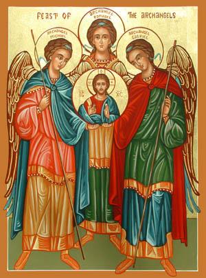 Các thiên thần của Thiên Chúa: SN Tin Mừng thứ Năm, Các Tổng lãnh thiên thần Micae, Gabrien, Raphaen (29.9.2016)