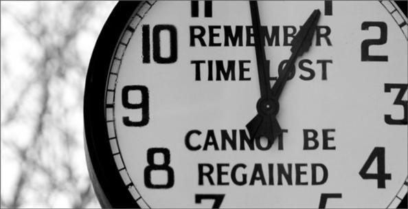 Các linh hồn nơi luyện tội nuối tiếc vì hoang phí thời gian
