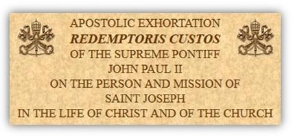 Tông huấn Đấng gìn giữ Chúa Cứu Thế - Redemptoris Custos (2)