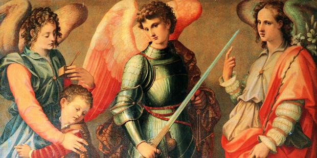 Các thiên thần được sai đến đồng hành với chúng ta trong cuộc đời
