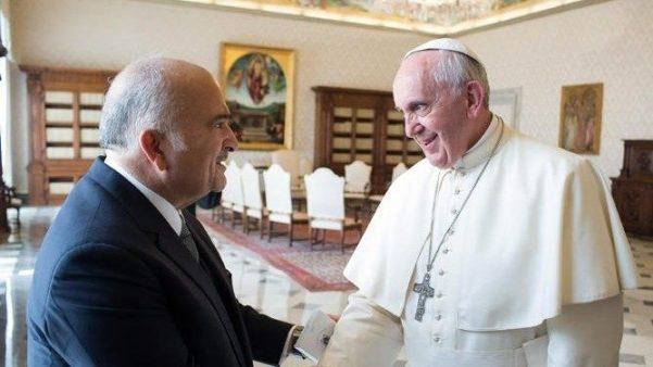 Hoàng tử của Jordan nói: Thông điệp mới của ĐGH cũng áp dụng cho vùng Trung Đông