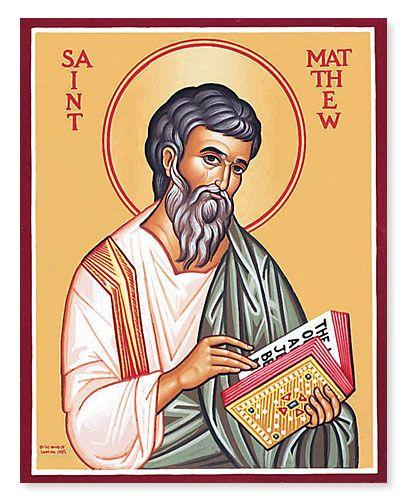 Thánh Matthêu, tông đồ, tác giả sách Phúc Âm (21/9)