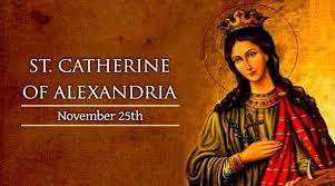 Thánh Catherine ở Alexandria (25/11)