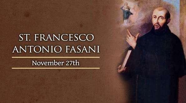 Thánh Francesco Antonio Fasani (29/11)