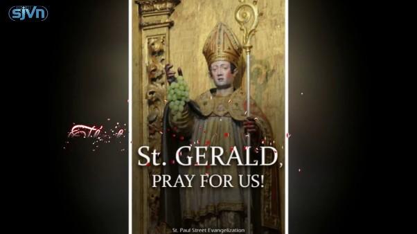 Thánh Gerald Aurillac (13/10)