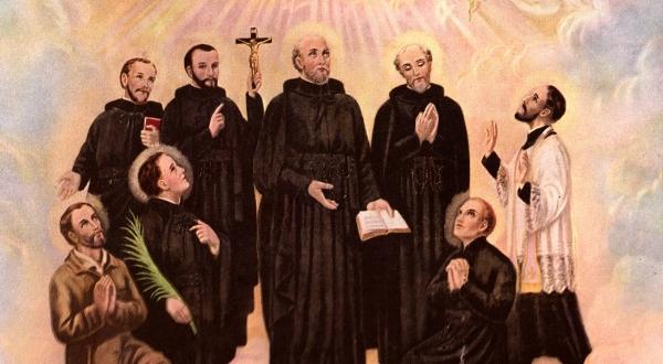 Thánh Isaac Jogues và Jean Brebeuf và các Bạn tử đạo Bắc Mỹ Châu (19/10)