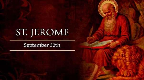 Thánh Giêrôm, Tiến sĩ Hội thánh (30/09)