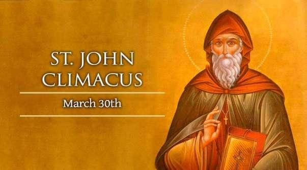 Thánh John Climacus (30/03)