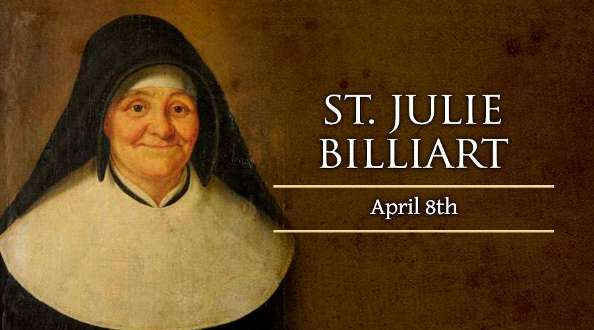 Thánh Julie Billiart (08/04)