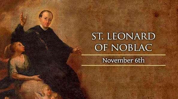 Thánh Leonard ở Noblac (06/11)