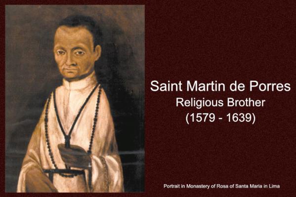 Thánh Martin de Porres (03/11)