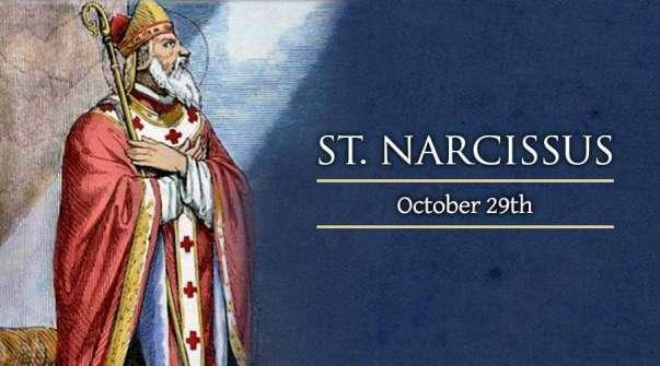 Thánh Narcissus Jerusalem (29/10)