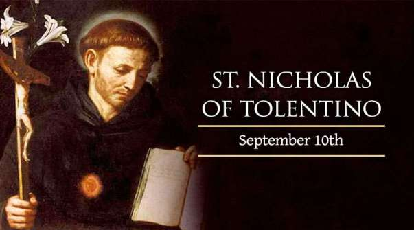 Thánh Nicholas Tolentino (10/09)