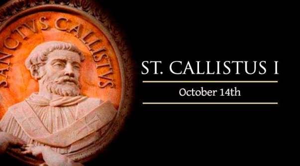 Thánh Pope Callistus I (14/10)
