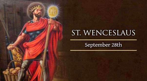 Thánh Wenceslaus Bohemia (28/09)