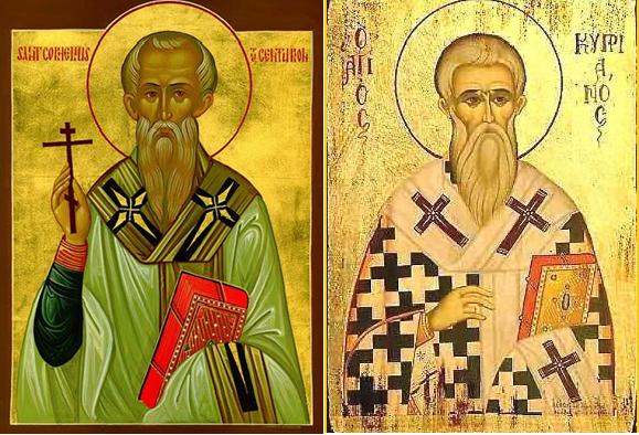Thánh Cornêliô Giáo hoàng và Thánh Cyprianô Giám mục, tử vì đạo (16/9)