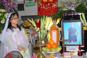 Cáo phó: Bà Maria Nguyễn Thị Mười (thân mẫu chị Viên Trần Hồng Đỉnh)
