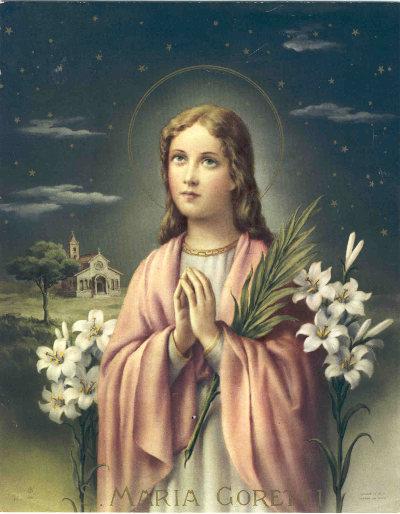 Thánh Maria Goretti, đồng trinh tử đạo (6/7)
