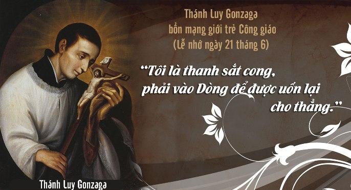 Thánh Luy Gonzaga, Tu sĩ (21/6)