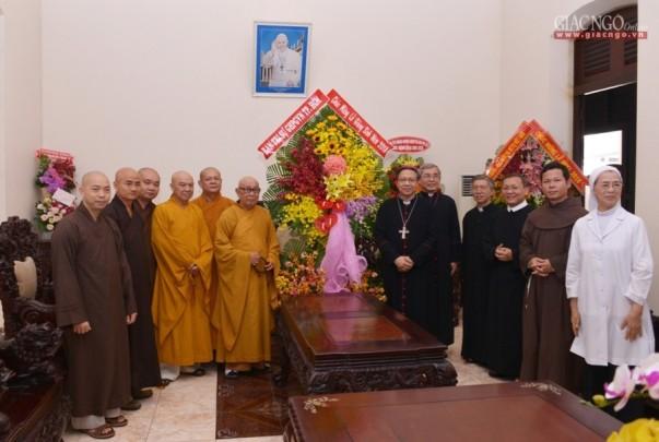 BTS Phật giáo TP.HCM chúc mừng Giáng sinh