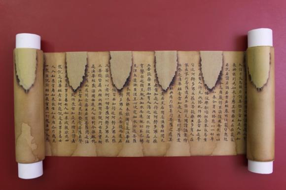 Anh quốc: Bảo tồn bản kinh Pháp hoa cổ trên giấy