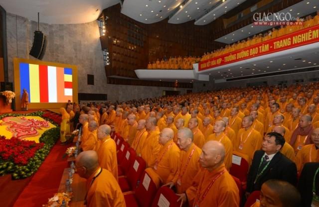 Trọng thể khai mạc Đại hội Phật giáo toàn quốc lần VIII