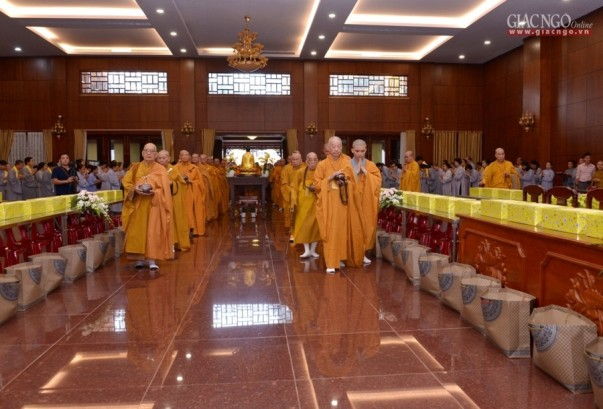 TP.HCM: Tạ pháp, Đại lễ Vu lan tại Việt Nam Quốc Tự