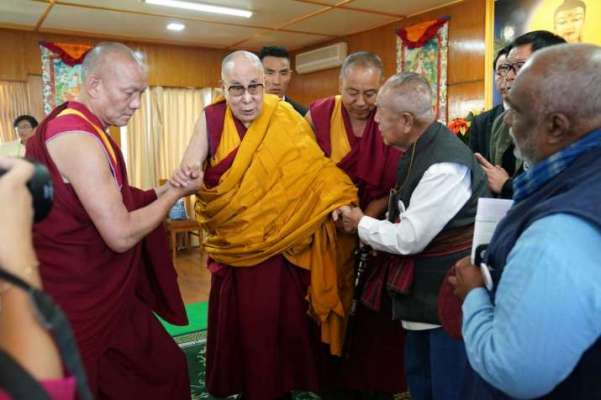 Đức Dalai Lama gặp gỡ Mạng lưới Phật tử nhập thế Quốc tế