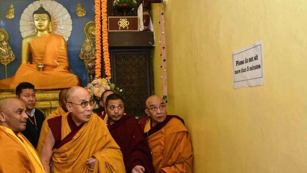 Đức Dalai Lama thăm và cầu nguyện tại Bồ Đề Đạo tràng
