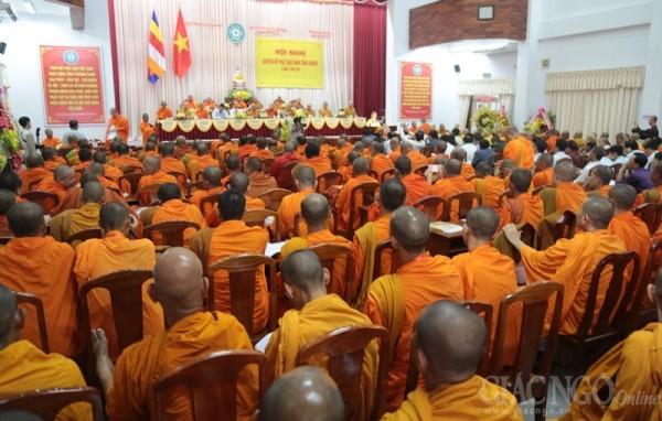 Trọng thể khai mạc Hội nghị PG Nam tông Khmer lần VII