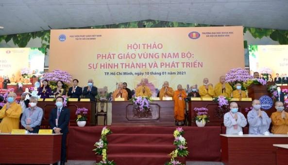 Khai mạc Hội thảo Phật giáo vùng Nam bộ