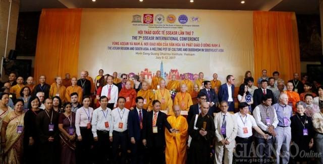 Khai mạc Hội thảo khoa học quốc tế về văn hóa và Phật giáo ở Đông Nam Á