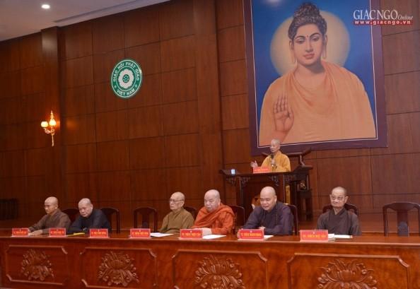 Phật giáo TP.HCM họp mở rộng về tổ chức Phật đản, An cư