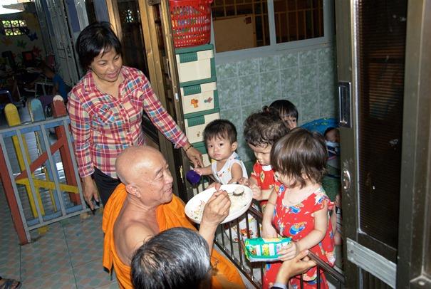 Chùa Kỳ Quang II và việc chăm sóc trẻ mồ côi