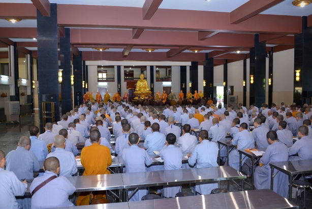 Khai giảng lớp Giới luật và nghi lễ thiền môn