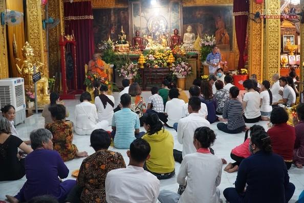 Lễ hội Sene Đônta tại chùa Chantarangsay