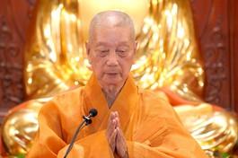 Pháp thoại HT. Thích Trí Quảng gửi đến Tăng Ni, Phật tử