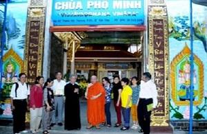 Ban MV ĐTLT thăm Chùa Phổ Minh (01.02.2020)