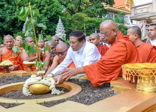 Sri Lanka và Campuchia chung tay phát triển Phật giáo