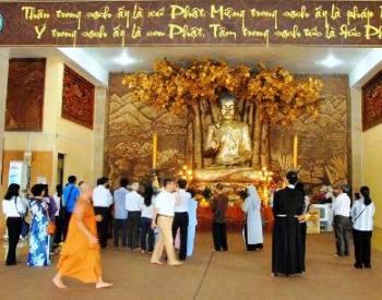 Đến thăm Pháp viện Minh Đăng Quang (1)