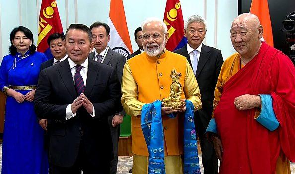 Ấn Độ và Mông Cổ cần chia sẻ các di sản Phật giáo