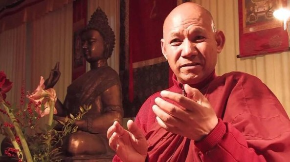 Tỳ-kheo Sanghasena nhận Giải thưởng Hòa bình Thế giới A.P.J. Abdul Kalam