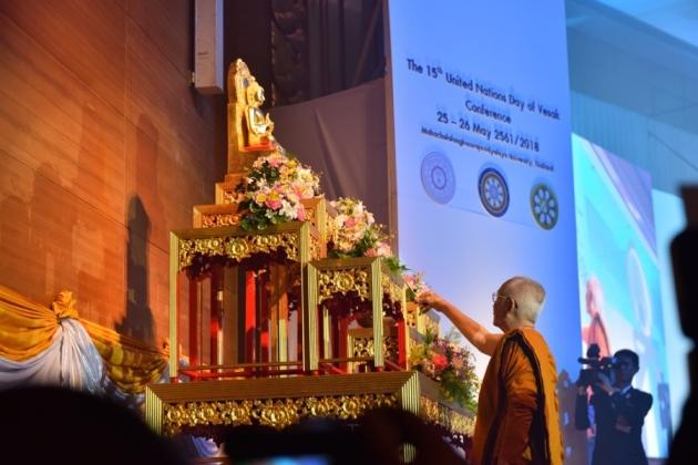 Thái Lan: Trọng thể khai mạc Đại lễ Vesak LHQ 2018