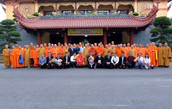Đoàn Việt tông tại Thái Lan thăm GHPGVN, Việt Nam Quốc Tự