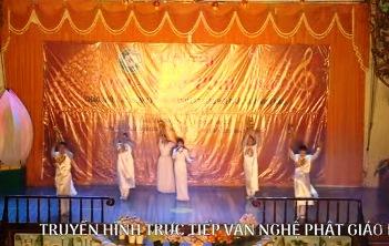 Văn nghệ Phật giáo kỷ niệm 35 năm thành lập Giáo Hội Phật Giáo Việt Nam