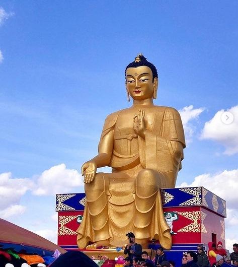 Khánh thành tượng Phật Di Lặc lớn nhất châu Âu