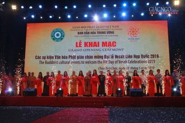 Đại lễ Vesak LHQ 2019: Khai mạc chuỗi các sự kiện văn hóa Phật giáo