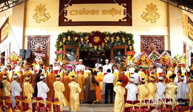 Khánh thành Pháp viện Minh Đăng Quang