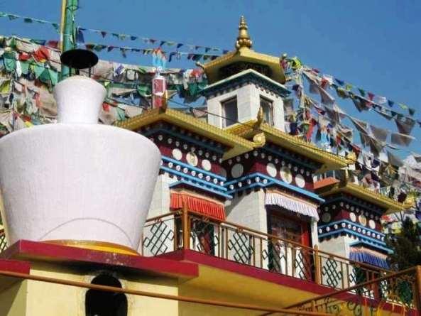 Trước dịch bệnh Covid-19: Đóng cửa khu phức hợp Phật giáo Tây Tạng tại Ấn Độ