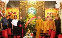 Tòa Tổng Giám mục Hà Nội chúc mừng Đại lễ Phật Đản 2018